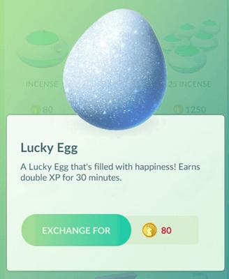 Beruntung pokemon telur pergi