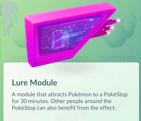 Goda modul pokemon pergi
