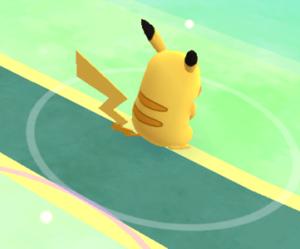 Pikachu pokemon pergi