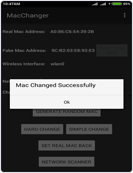 How To Temporarily Change Android MAC Address With Rooting 5