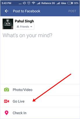 """Mengenal Fitur Baru """"Go Live"""" Di Facebook dan Cara Menggunakannya"""