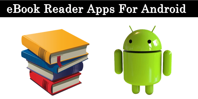 Android ebook reader software