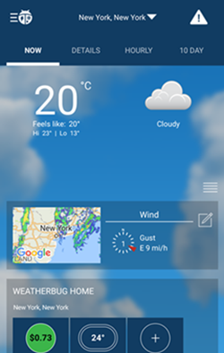 weatherbug now