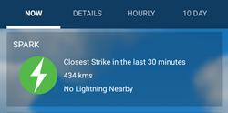 weatherbug spark