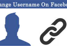 How To Change Username On Facebook