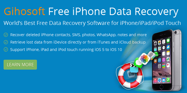 Gihosoft Free iPhone Data Recovery: Recover Lost Data From iPhone, iPad \u0026 iPod  Safe Tricks