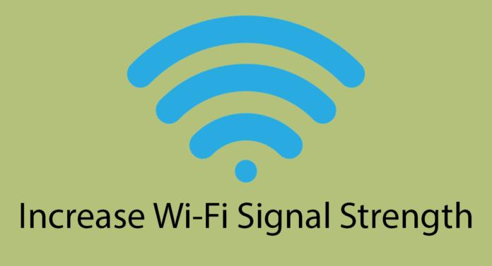 Increase Wi-Fi Signal Strength