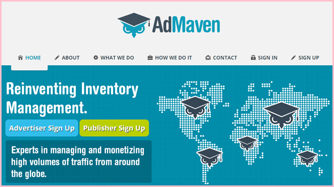 ad maven popunder network