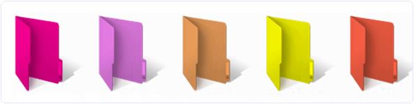 Change windows folder color