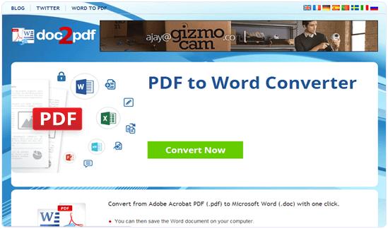 zamzar convert pdf to excel