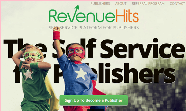 revenue hits popunder ad network