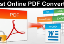 Convert PDF To Word, Excel, PPT, Image & Others File Format Online