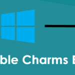 How To Disable Charms Bar On Windows 8 Or 8.1