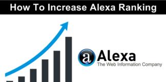 How To Improve Alexa Ranking Quickly