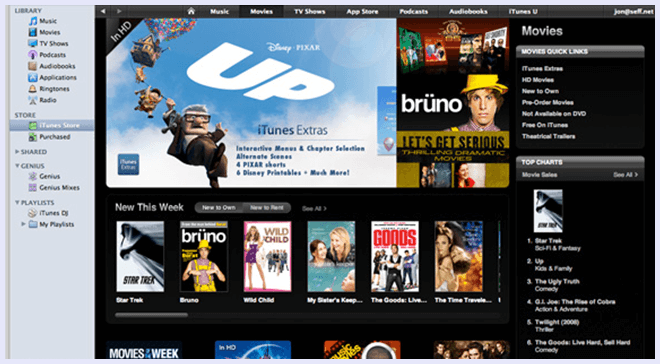 itunes movie streaming