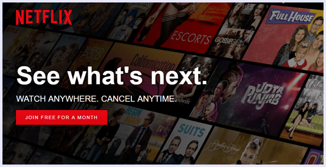 netflix movie streaming