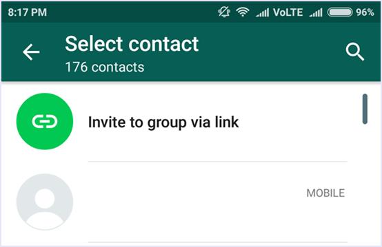 whatsapp add group participants