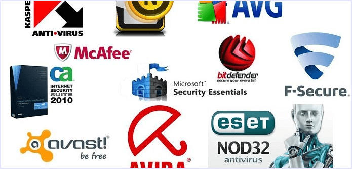 antivirus logos