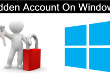 How To Create & Manage Hidden Account On Windows