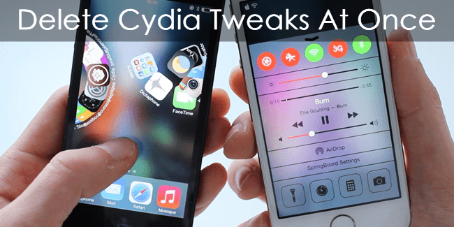 How To Delete All Cydia Tweaks At Once