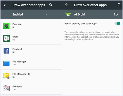 draw over other apps android