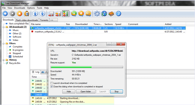 Manajer download gratis fdm