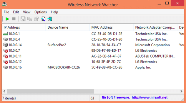 nirsoft wireless network watcher