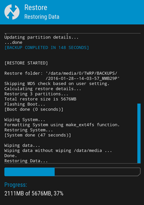 restore data partition twrp