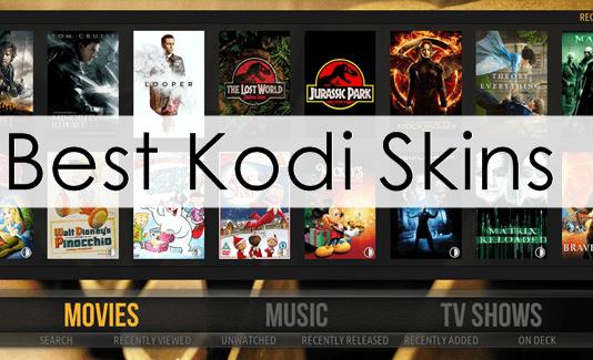 Top 10 Best Kodi Skins