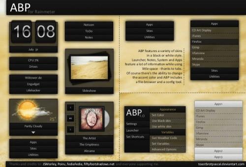 abp theme rain meter