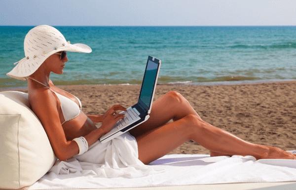 avoid laptop in sun