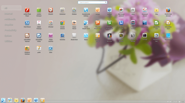 deepin linux desktop environment