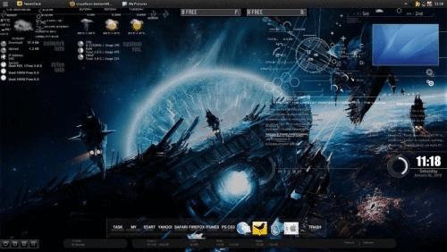 my rain meter desktop