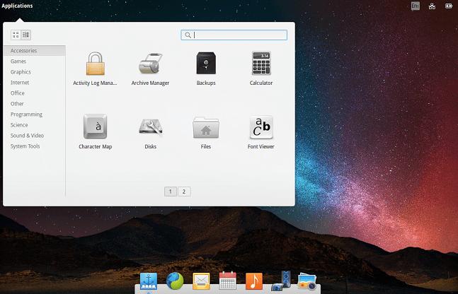 pantheon linux desktop environment