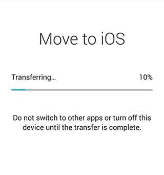 Transferring Data