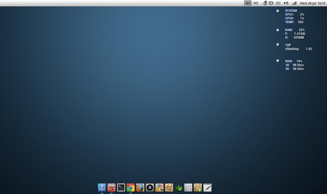 xfce linux desktop environment