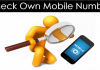How To Check Own Mobile Number On All Operators