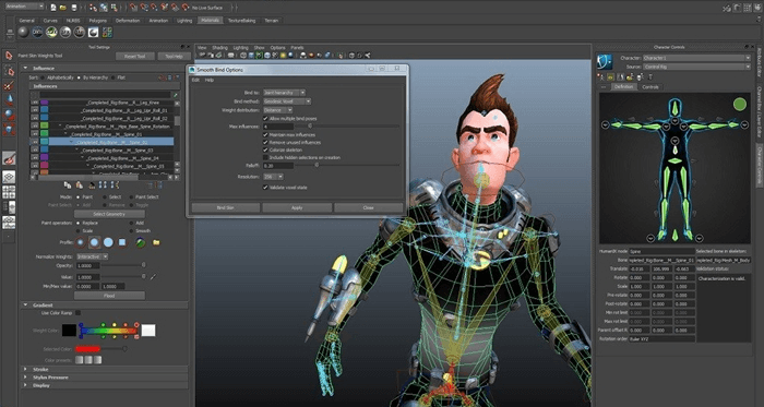 autodesk maya - Top 10 Best 2D/3D Animation Software For PC – 2018