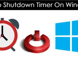 How To Set Shutdown Timer On Windows 7, 8, 10