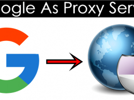 How To Use Google As Proxy Server