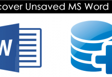 How To Recover Unsaved MS Word Document