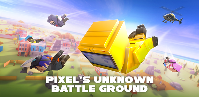 Pixels Unknown Battleground Game