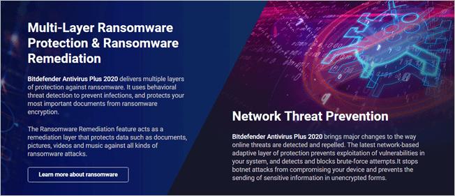 Top Antivirus 2020.Bitdefender Antivirus Plus 2020 Edition Best Antivirus Pack For