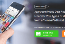 Joyoshare iPhone Data Recovery Thumbnail