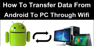 How To Transfer Data From Android To PC Laptop Using WIFI
