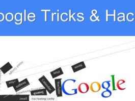 Google tricks and secrets hacks tips
