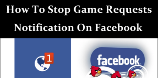 How to block game requests and invites on facebook