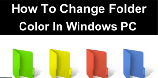 How To Change Folder Color In Windows 7 8 10 PC