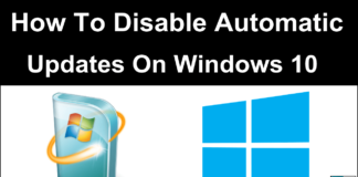 How to disable automatic windows updates on windows 10