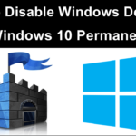 How to disable windows defender in windows 10 8 7